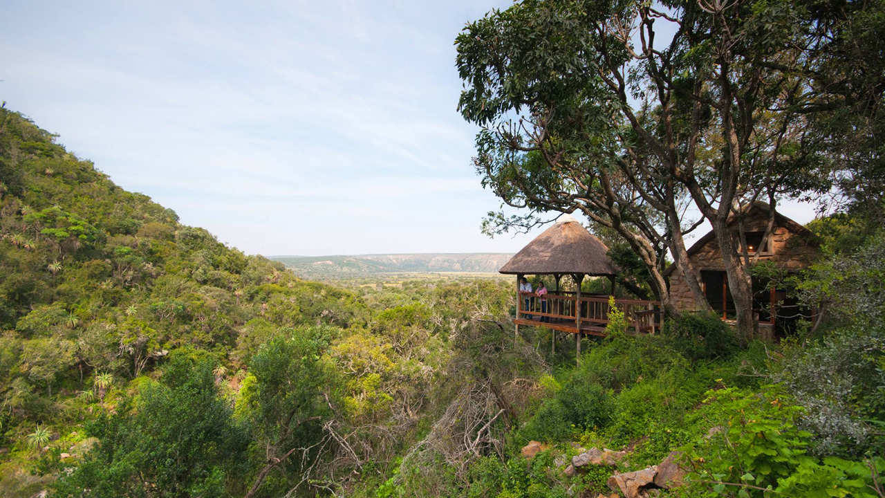Amakhala Game Reserve Woodbury Lodge Deck View