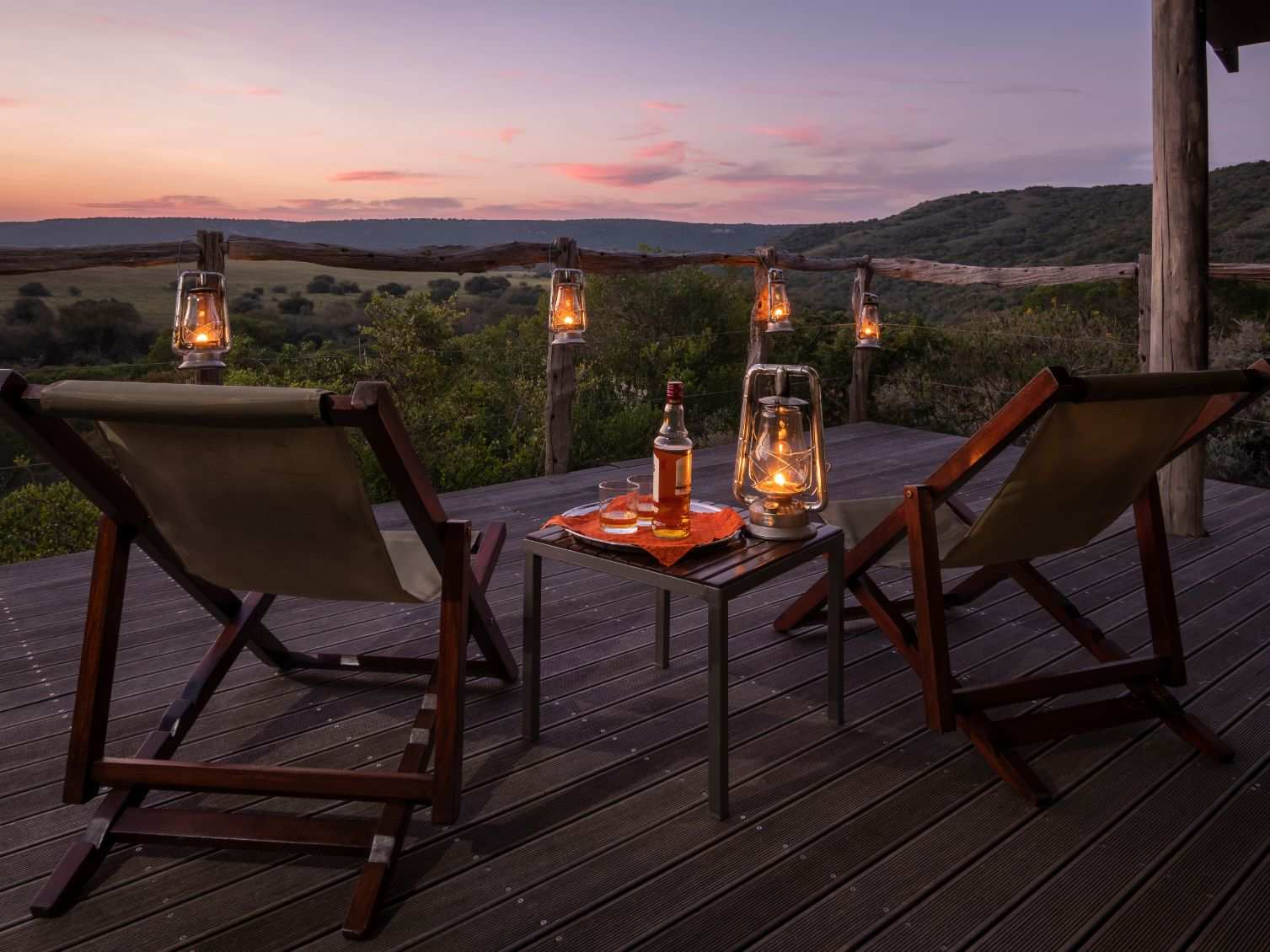 Amakhala Game Reserve Hillsnek Safari Camp Deck