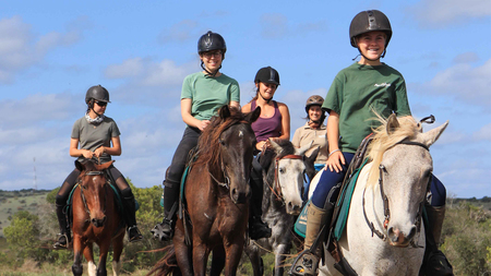 Amakhala Game Reserve Horse Trails Family Friendly