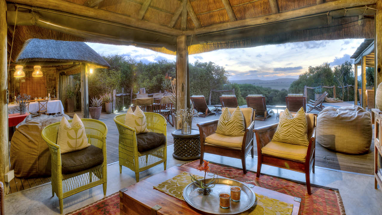 Amakhala Game Reserve Hills Nek Safari Camp Main Lounge