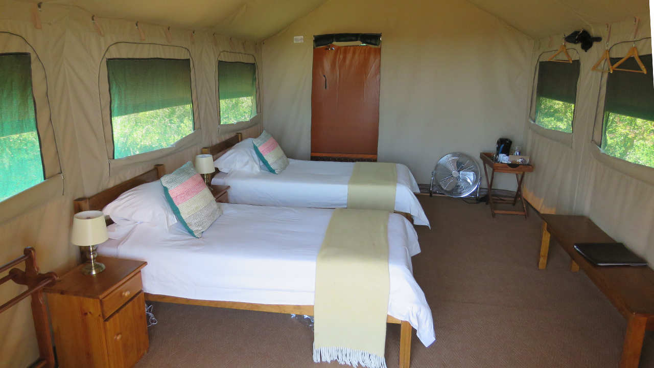 Amakhala Game Reserve Woodbury Tented Camp Twin Bedroom