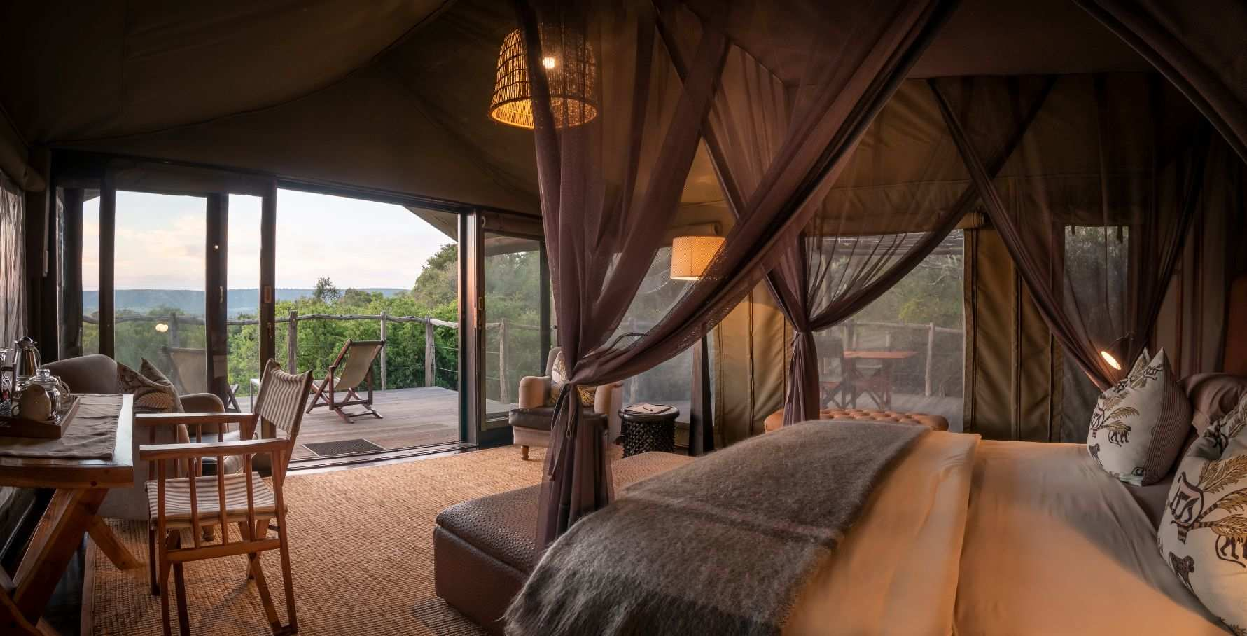 Amakhala Game Reserve Hillsnek Safari Camp Tent Interior