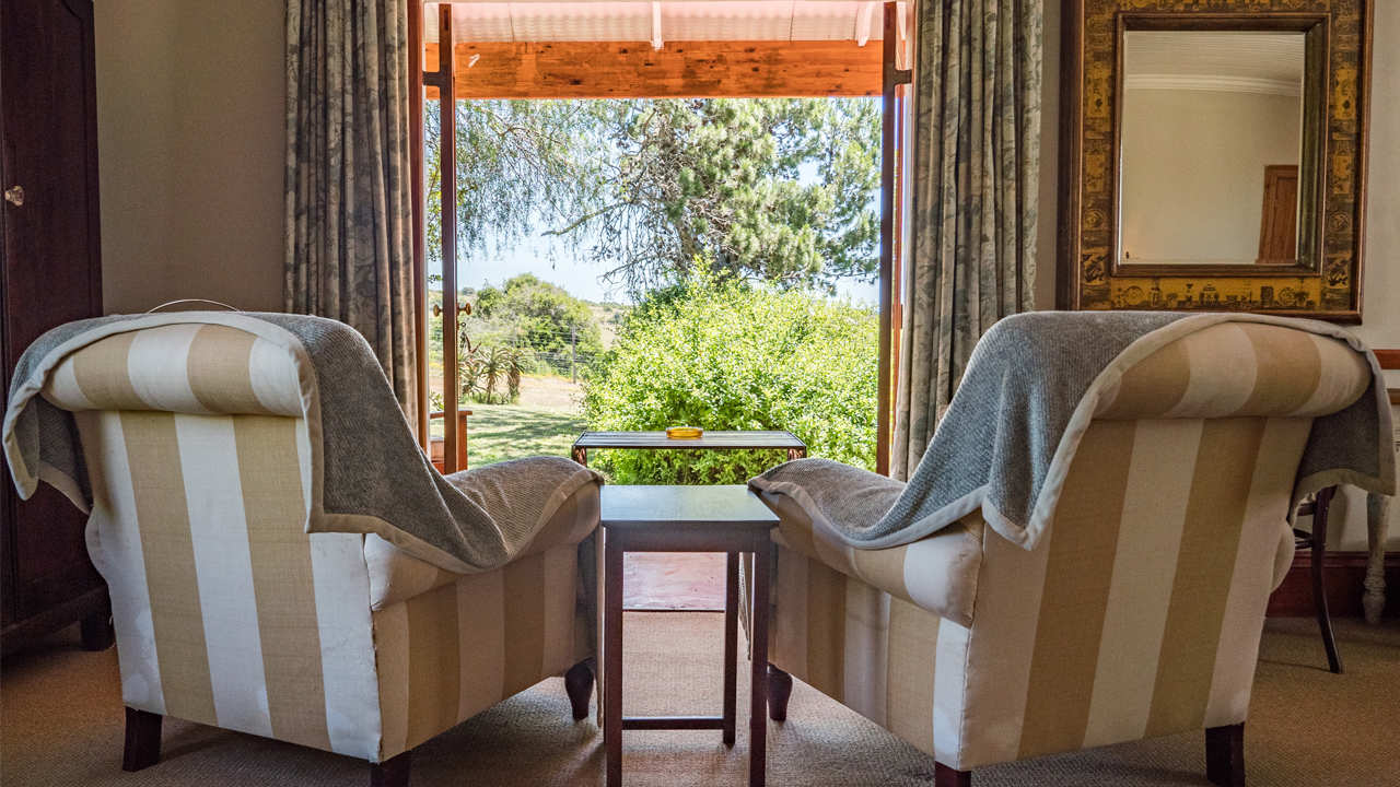 Amakhala Game Reserve Leeuwenbosch Country House Suite View