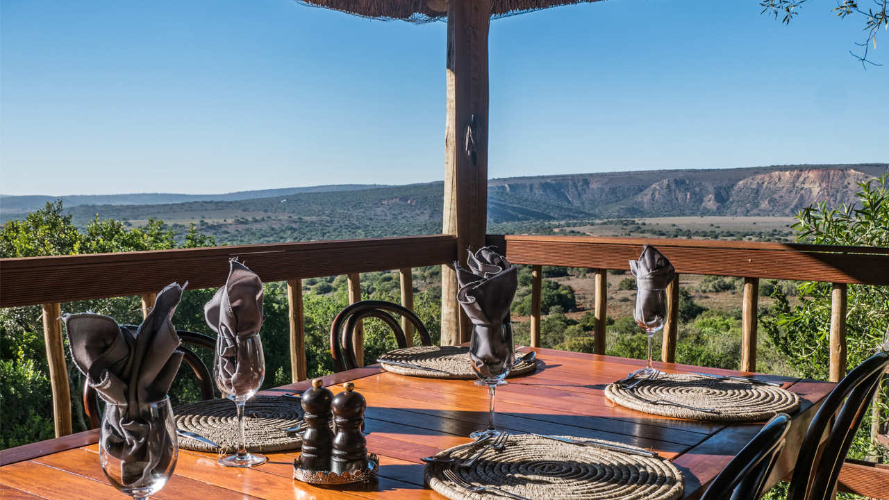 Amakhala Game Reserve Viewing Deck View