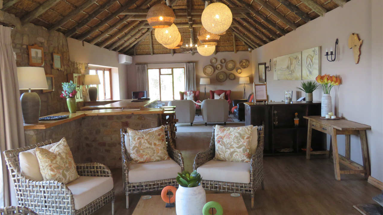 Amakhala Game Reserve Woodbury Lodge Lounge