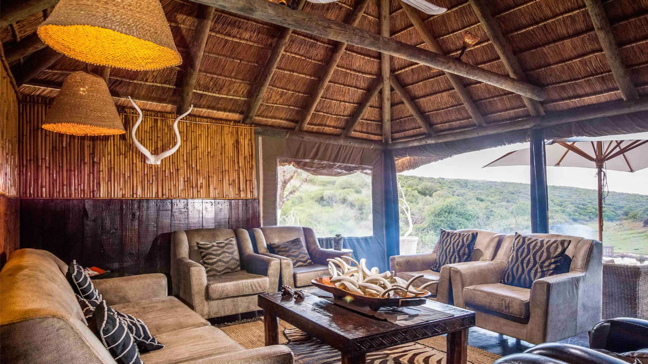 Amakhala Game Reserve Safari Lodge Lounge