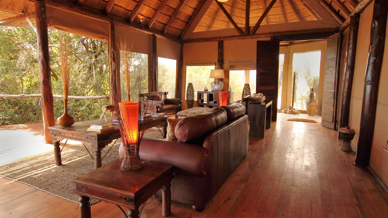 Amakhala Game Reserve Bush Lodge Deck Lounge