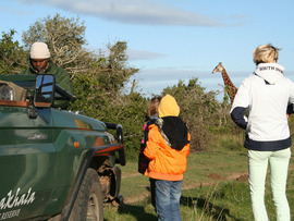 Amakhala Game Reserve Guests On Safari Morning