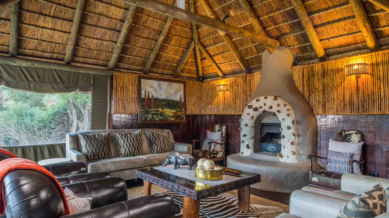 Amakhala Game Reserve Safari Lodge Lounge Area