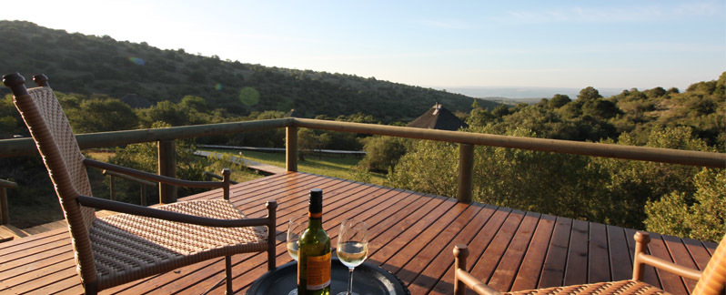 Bukela Game Lodge Amakhala Game Reserve View From Tent