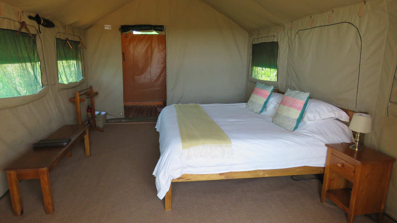 Amakhala Game Reserve Woodbury Tented Camp Bedroom
