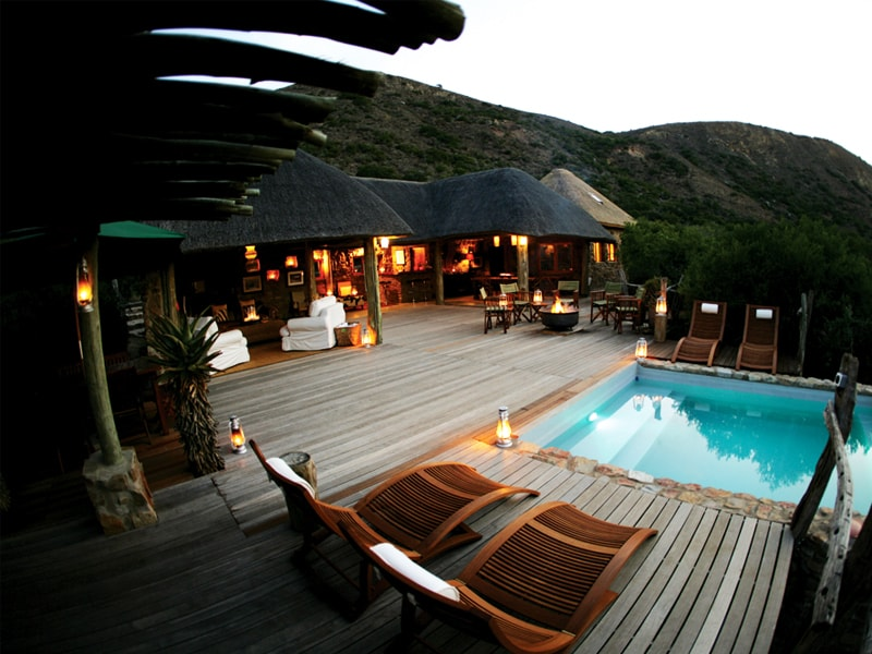 Eastern Cape Safari Greater Addo Accommodation Amakhala Game Reserve Hills Nek Safari Camp Facilities Pool Min