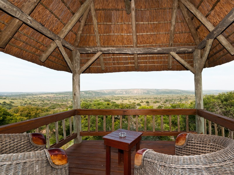 Amakhala Game Reserve Woodbury Lodge View