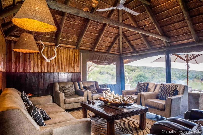 Safari Lodge Amakhala Game Reserve Lounge