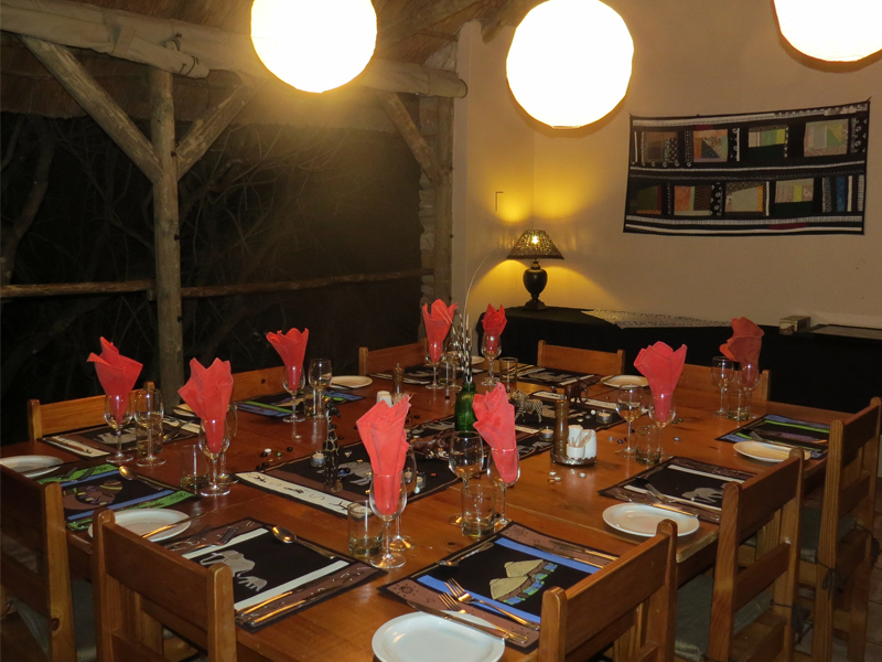 Woodbury Tented Camp Amakhala Game Reserve Dining