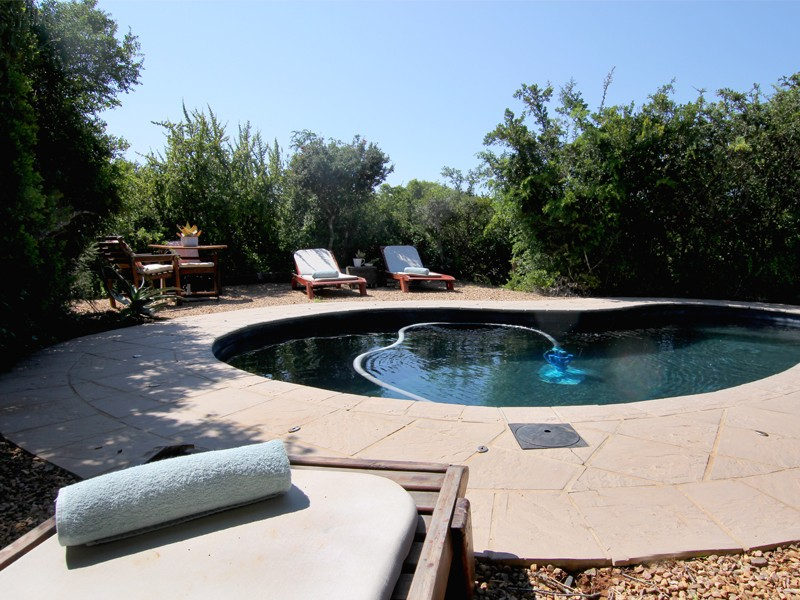 South African Game Reserve Woodbury Tented Camp Pool