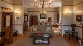 Amakhala Game Reserve Leeuwenbosch Country House Lounge