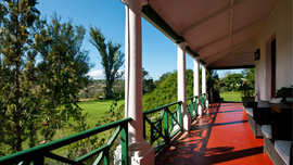 Amakhala Game Reserve Leeuwenbosch Country House Patio View