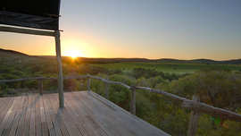 Amakhala Game Reserve Hills Nek Safari Camp Sunset View From Deck