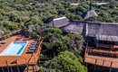 Amakhala Game Reserve Woodbury Tented Camp Lodge Drone Image